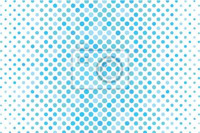 Points de demi-teinte sur un fond blanc. Fond de demi-teinte pour votre conception. Illustration vectorielle