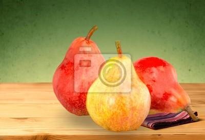 Poire, Fruit, Rouge.