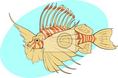 poissons tropicaux exotiques
