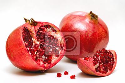 Pomme rouge de grenat