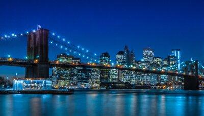 Papiers peints Pont de Brooklyn New York Skyline