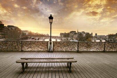 Papiers peints Pont des Arts Paris