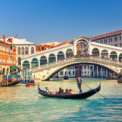 Papiers peints Pont du Rialto à Venise