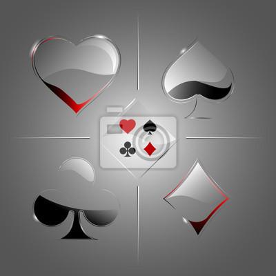 Pont transparent de cartes