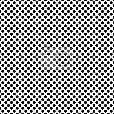 Pop Art Points De Fond Texture Noir Et Blanc Papier Peint
