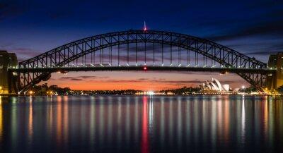 Papiers peints Port de Sydney à l'aube