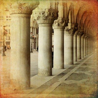Papiers peints Portico di Palazzo Ducale, Venise