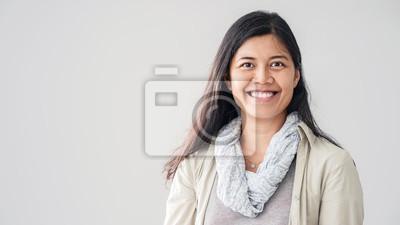 Papiers peints Portrait of asian young woman