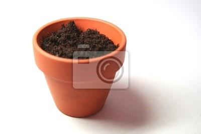 Pot De Fleur En Terre Cuite Papier Peint Papiers Peints Compost
