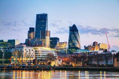 Papiers peints Quartier financier de la City de Londres