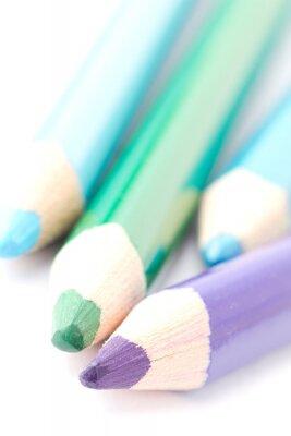 Papiers peints Quatre crayons