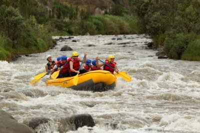 Papiers peints Rafting dans les rivières Whitewater