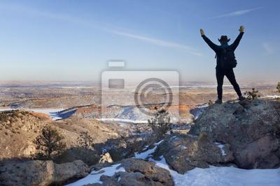 Papiers peints randonnée d'hiver dans le Colorado