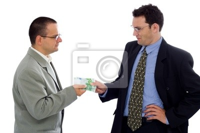 Réception du paiement