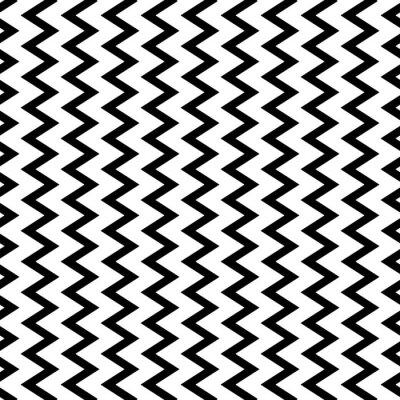 Papiers peints Répétable ondulé, lignes verticales en zigzag en mode parallèle.