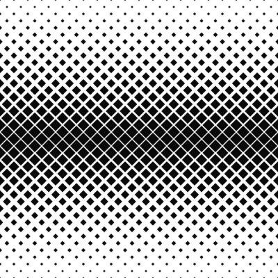 Papiers peints Répétition motif carré monochrome