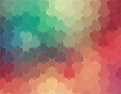 Papiers peints Résumé 2D géométrique fond coloré