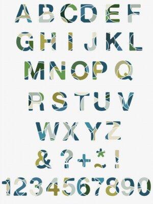 Papiers peints Résumé Alphabet