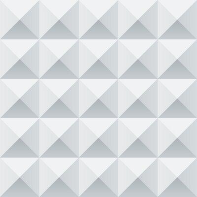 Papiers peints Résumé carrés géométriques blancs et gris seamless pattern