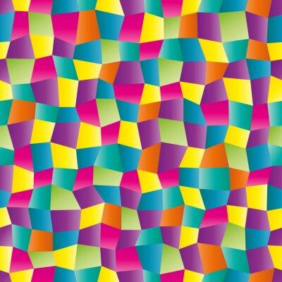 Papiers peints Résumé couleur motif géométrique