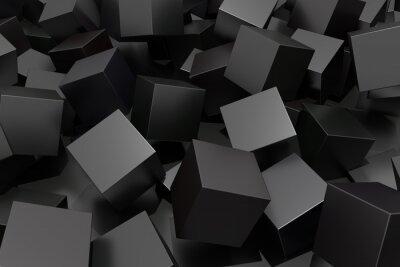 Papiers peints Résumé cube