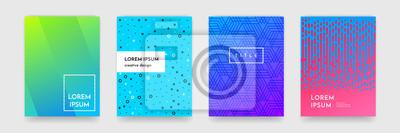 Papiers peints Résumé de la texture du motif de gradient pour la couverture de livre
