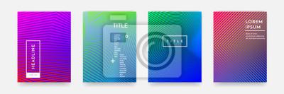 Papiers peints Résumé de texture de motif de gradient abstrait pour un ensemble de modèles de couverture de livre