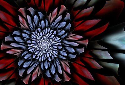 Papiers peints Résumé fleur de fractale