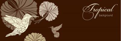 Papiers peints Résumé, fond, fleurs