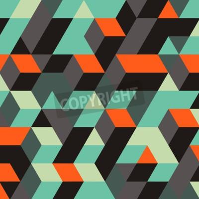 Papiers peints Résumé fond géométrique 3d. Peut être utilisé pour le fond d'écran, l'arrière-plan de la page Web, les bannières Web.