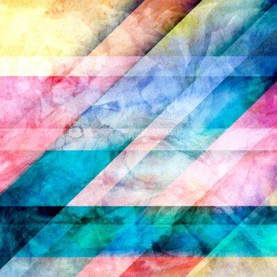 Papiers peints Résumé fond géométrique brillant