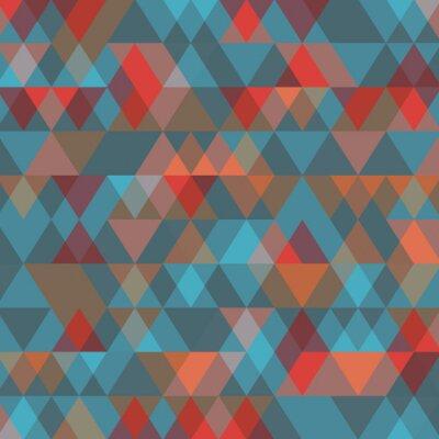Papiers peints Résumé, fond, triangles Illustration vectorielle.