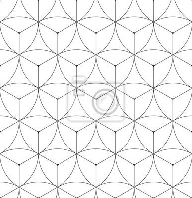 Résumé géométrique seamless pattern vector hexagonal triangulaire fond grille texture