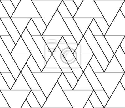 Résumé géométrique seamless pattern vector hexagonale triangulaire fond grille texture