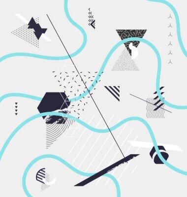 Papiers peints Résumé, minimaliste, géométrique, composition