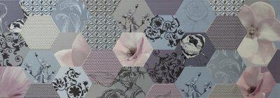 Papiers peints Résumé, mosaïque, tuiles, portugais