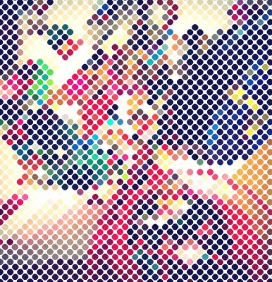 Papiers peints résumé multicolore lumière de disco vecteur de fond eps 10