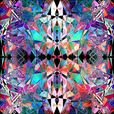 Papiers peints Résumé polygon de fond d'aquarelle