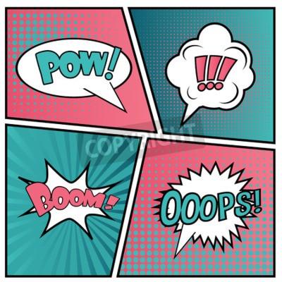 Papiers peints Résumé vecteur concept Creative bulles de la parole vide mis.