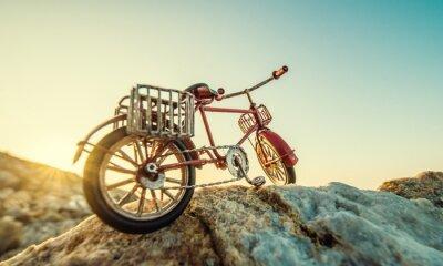 Papiers peints Retro, jouet, bicyclette, mer