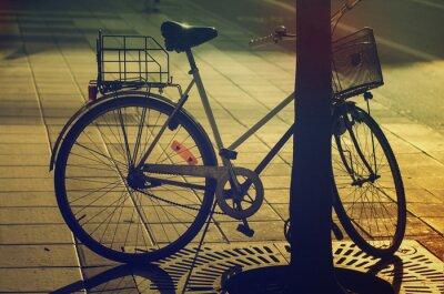 Papiers peints Rétro vélo sur la rue
