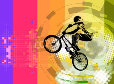 Papiers peints rider BMX