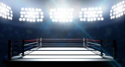Papiers peints Ring de boxe Dans Arena