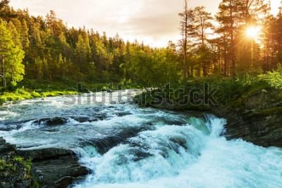 Papiers peints Rivière en Norvège