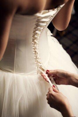 Papiers peints Robe de mariée