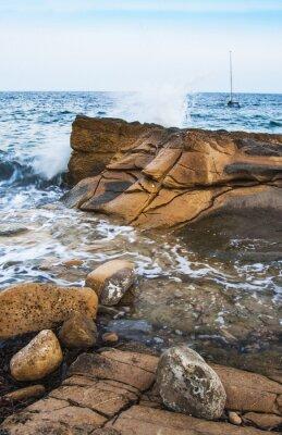 Papiers peints Rocas en la costa