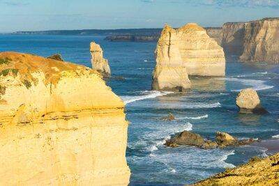 Papiers peints Rochers des douze apôtres le long de la côte australienne