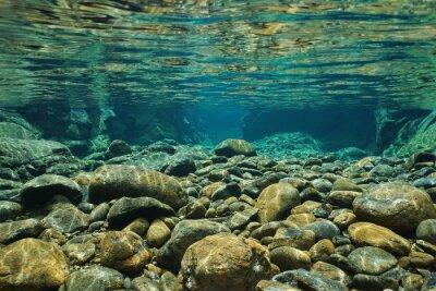 Papiers peints Rochers, sous-marin, rivière, lit, clair, eau douce, Dumbea, rivière, Grande ...
