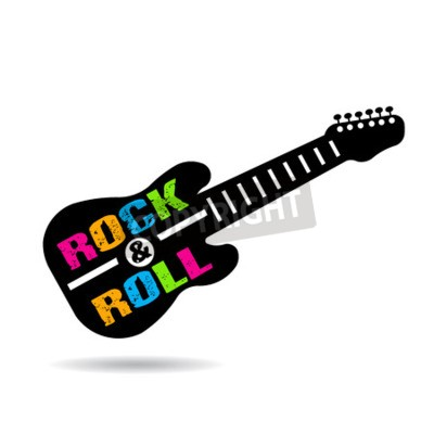 Papiers peints Rock and roll guitare