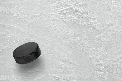 Papiers peints Rondelle de hockey sur la glace